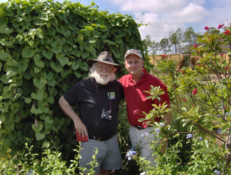 Author Pyle visits the Crooked Garden